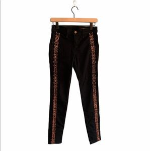Rag & Bone The Bengal Embroidered Jeans